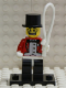 Minifig No: col019b  Name: Circus Ringmaster with all Accessories and Stand