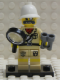 Minifig No: col023b  Name: Explorer with all Accessories and Stand