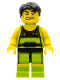 Minifig No: col026  Name: Weightlifter - Minifig only Entry