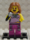 Minifig No: col027b  Name: Pop Star with all Accessories and Stand