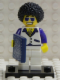 Minifig No: col029b  Name: Disco Dude with all Accessories and Stand