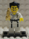 Minifig No: col030b  Name: Karate Master with all Accessories and Stand