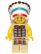 Minifig No: col034  Name: Tribal Chief - Minifig only Entry