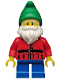Minifig No: col049  Name: Lawn Gnome - Minifig only Entry