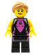 Minifig No: col053  Name: Surfer Girl - Minifig only Entry