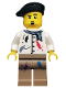 Minifig No: col062  Name: Artist - Minifigure only Entry