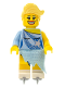 Minifig No: col063  Name: Ice Skater - Minifig only Entry