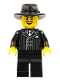 Minifig No: col079  Name: Gangster - Minifig only Entry