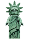 Minifig No: col084  Name: Lady Liberty - Minifig only Entry