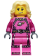 Minifig No: col093  Name: Intergalactic Girl - Minifig only Entry