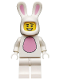 Minifig No: col099  Name: Bunny Suit Guy - Minifig only Entry