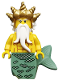 Minifig No: col101  Name: Ocean King - Minifig only Entry