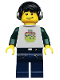 Minifig No: col124  Name: DJ - Minifig only Entry