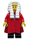 Minifig No: col138  Name: Judge - Minifig only Entry