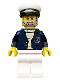Minifig No: col154  Name: Sea Captain - Minifigure only Entry