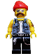 Minifig No: col160  Name: Motorcycle Mechanic - Minifigure only Entry