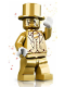 Minifig No: col161  Name: Mr. Gold - Minifigure only Entry