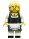 Minifig No: col165  Name: Pretzel Girl - Minifigure only Entry