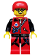 Minifig No: col171  Name: Mountain Climber - Minifig only Entry