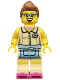 Minifig No: col175  Name: Diner Waitress - Minifig only Entry