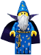 Minifig No: col179  Name: Wizard - Minifigure only Entry