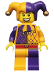 Minifig No: col187  Name: Jester - Minifig only Entry