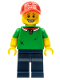 Minifig No: col189  Name: Pizza Delivery Guy - Minifig only Entry
