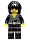 Minifig No: col190  Name: Rock Star - Minifigure only Entry