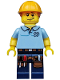 Minifig No: col203  Name: Carpenter - Minifigure only Entry