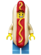Minifig No: col208  Name: Hot Dog Man - Minifig only Entry