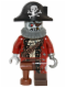 Minifig No: col212  Name: Zombie Pirate - Minifig only Entry
