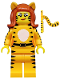 Minifig No: col219  Name: Tiger Woman - Minifig only Entry