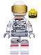 Minifig No: col229  Name: Astronaut - Minifigure only Entry