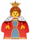 Minifig No: col243  Name: Queen - Minifigure only Entry