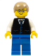 Minifig No: col277  Name: Gentleman (5002147)