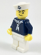 Minifig No: col307  Name: Sailor, Dark Blue Shirt and Anchor on Cap