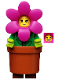 Minifig No: col325  Name: Flower Pot Girl