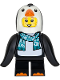 Minifig No: col340  Name: Penguin Suit Girl