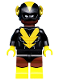 Minifig No: coltlbm44  Name: Black Vulcan - Minifig Only Entry