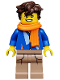 Minifig No: coltlnm06  Name: Jay Walker - Minifig Only Entry, no stand, no accessories
