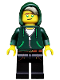 Minifig No: coltlnm07  Name: Lloyd Garmadon - Minifig Only Entry, no stand, no accessories