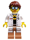 Minifig No: coltlnm18  Name: GPL Tech - Minifig Only Entry, no stand, no accessories