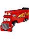 Minifig No: crs004  Name: Mack - Semi Tractor Trailer