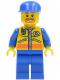 Minifig No: cty0070  Name: Coast Guard City - Patroller 1
