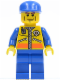 Minifig No: cty0077  Name: Coast Guard City - Patroller 2