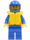 Minifig No: cty0109  Name: Coast Guard City - Speedboat Driver