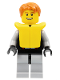 Minifig No: cty0250  Name: Jet Skier Male