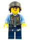 Minifig No: cty0361  Name: Police - LEGO City Undercover Elite Police Officer 2