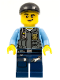 Minifig No: cty0432  Name: Police - LEGO City Undercover Elite Police Officer 8