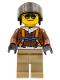 Minifig No: cty0490  Name: Arctic Helicrane Pilot